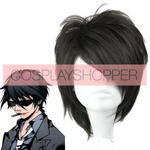 Black 32cm Arcana Famiglia Jolly Cosplay Wig