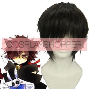 Black 32cm Pandora Hearts Cheshire Cosplay Wig