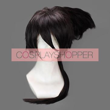 Black 45cm Nura: Rise of the Yokai Clan Rihan Nura Cosplay Wig