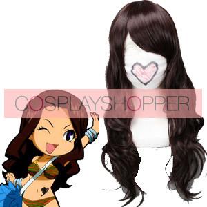 Brown 65cm Fairy Tail Cana Alberona Cosplay Wig