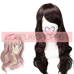Brown 65cm Future City No.6 Inukashi Cosplay Wig
