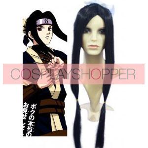 Black 70cm Naruto Haku Cosplay Wig