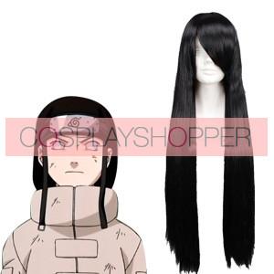 Black 80cm Naruto Hyuuga Neji Cosplay Wig