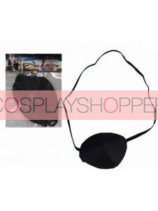 Black Bleach Zaraki Kenpachi Cosplay Cloth Eyecup