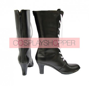 Black Butler Kuroshitsuji Ciel Faux Leather Cosplay Boots