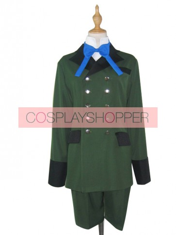 Kuroshitsuji Black Butler Ciel Phantomhive Uniform Cosplay Costume