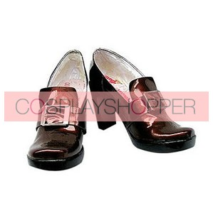 Black Butler Kuroshitsuji Ciel Smooth Surface High Heel Cosplay Shoes