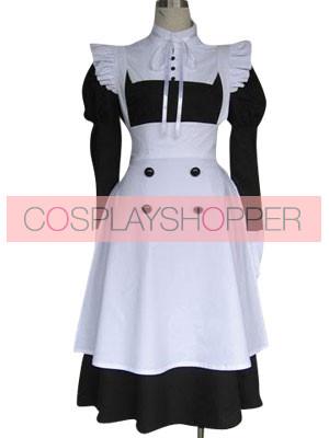 Kuroshitsuji Black Butler Mey-Rin Cosplay Costume