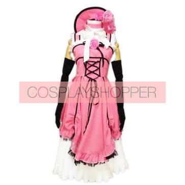 Kuroshitsuji Black Butler Pink Cosplay Costume Dress