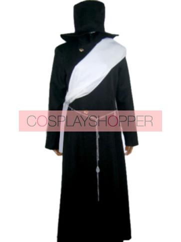 Kuroshitsuji Black Butler Undertaker Cosplay Costume