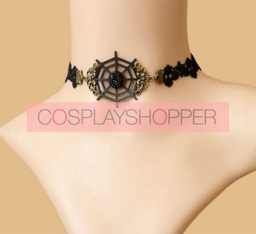 Black Classic And Special Lolita Necklace