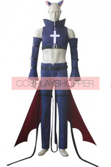 Shugo Chara Black Lynx Cosplay Costume
