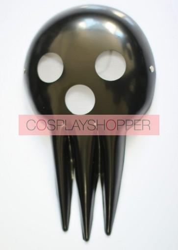 Black Soul Eater Death PVC Cosplay Mask