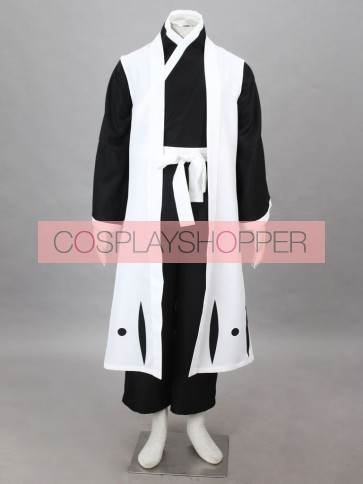 Bleach Captain Ichimaru Gin Cosplay Costume - 3rd Division
