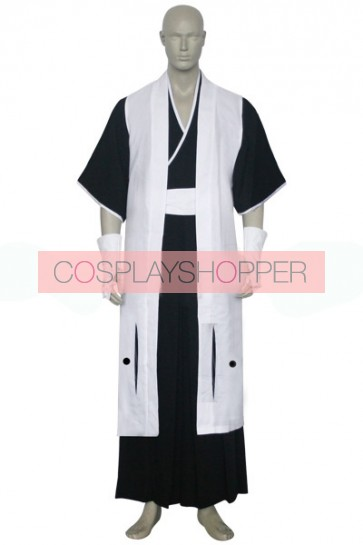 Bleach Captain Kuchiki Byakuya Cosplay Costume - 6th Division