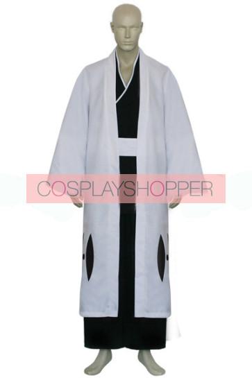 Bleach Captain Kurotsuchi Mayuri Cosplay Costume- 12th Division