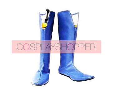 Bleach Noba Blue Cosplay Boots