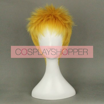 Blonde 32cm Attack On Titan Reiner Braun Cosplay Wig