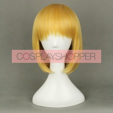 Blonde 40cm Attack On Titan Armin Arlert Cosplay Wig