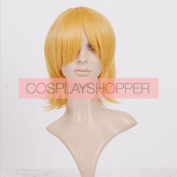 Blonde Roxas Cosplay Wig