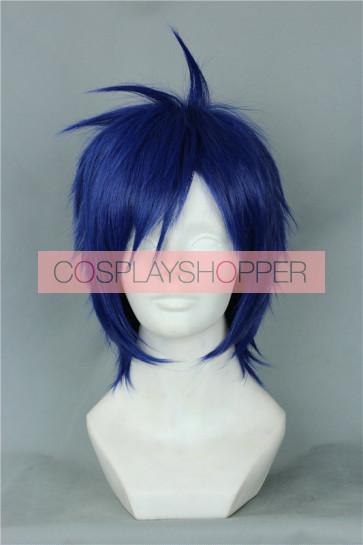 Blue 30cm Free! Rei Ryugazaki Cosplay Wig