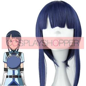 Blue 45cm Sword Art Online Sachi Cosplay Wig