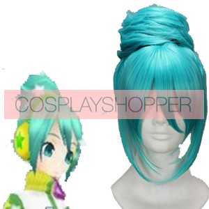Blue 45cm Vocaloid Cosplay Wig