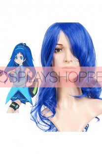 Blue 55cm Vocaloid Nylon Cosplay Wig