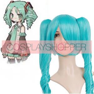 Blue 65cm Vocaloid Hatsune Miku Cosplay Wig