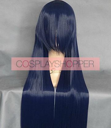 Anohana Blue 80cm Chiriko Tsuruko Tsurumi Cosplay Wig
