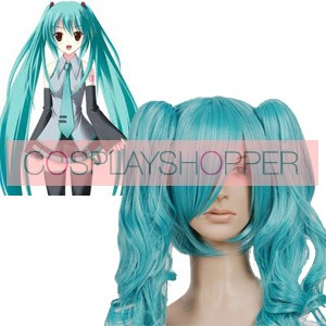 Blue 90cm Vocaloid Miku Cosplay Wig