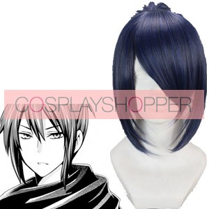 Blue And Gray 45cm Future City No.6 Nezumi Mouse Cosplay Wig