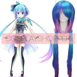 Blue Green 100cm Vocaloid 3 Aoki Lapis Miku Cosplay Wig
