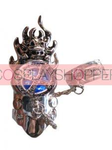 Blue Katekyo Hitman Reborn Cosplay Fingerstall