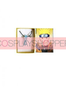 Blue Naruto Uzumaki Cosplay Necklace
