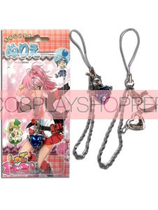 Blue Shugo Chara Alloy Cosplay Phone Strap