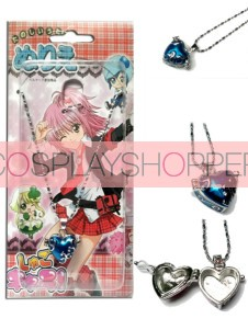 Blue Shugo Chara Alloy Pendant Necklace
