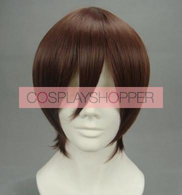 Brown 35cm Rosario + Vampire Tsukune Aono Cosplay Wig