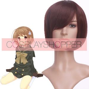 Brown 35cm Shakugan no Shana Yoshida Kazumi Cosplay Wig