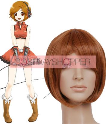Brown 35cm Vocaloid Meiko Cosplay Wig
