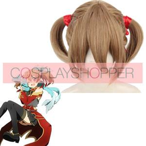 Brown 40cm Sword Art Online Silica Cosplay Wig
