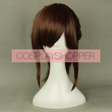 Brown 45cm Attack On Titan Sasha Braus Cosplay Wig