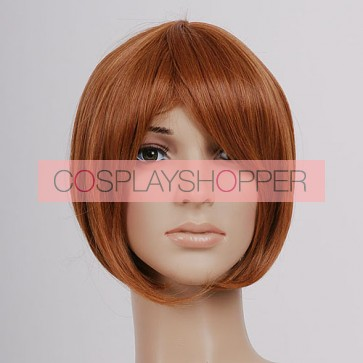 Brown South Italy Romano Cosplay Wig