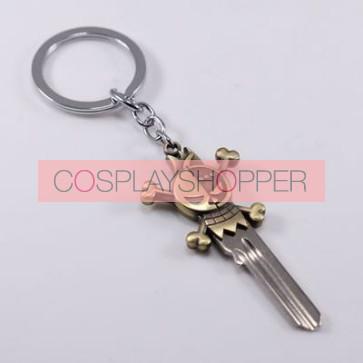 One Piece Franky Cosplay Key Chain