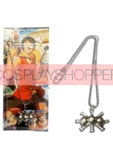 Silver One Piece Cosplay Necklace