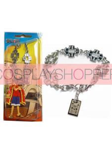 One Piece Roronoa Zoro Alloy Anime Bracelet