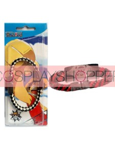 Black & Red One Piece Anime Hand Strap