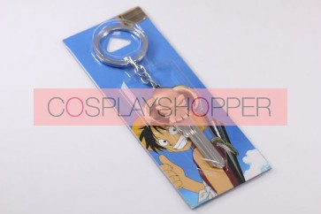 One Piece Portgas D Ace Cosplay Key Chain