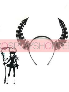 Vocaloid Black Rock Shooter Horn Cosplay Headwear