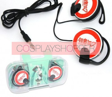 Red Vocaloid Anime Earphone